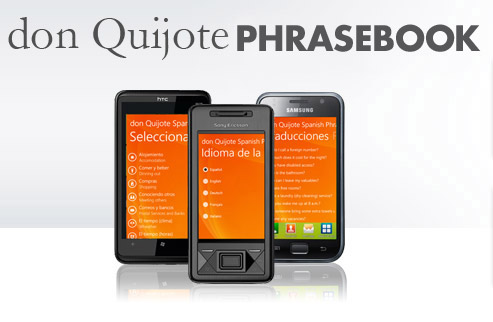 don Quijote Phrasebook