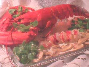 Lobster with Cava sauce