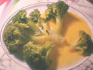 Broccoli with Jerez sauce