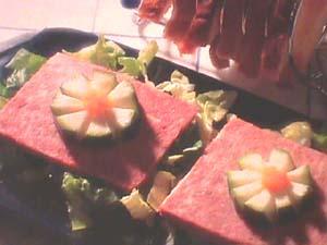 Various meat paté
