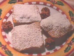 Fried sweet toasties