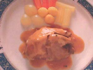 Partridge in Castilian Cream