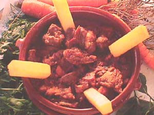 Galician veal stew