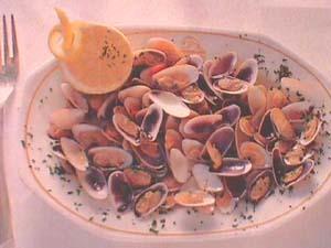 Málaga clams