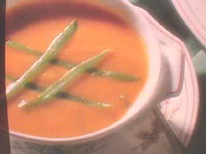 Cream of vegetables
