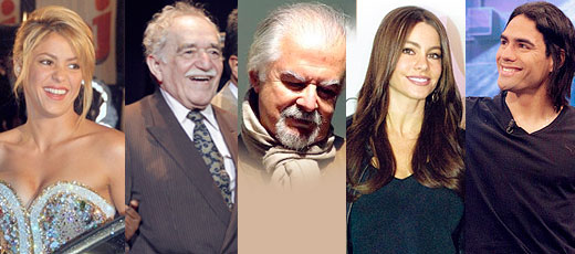 Famous People from Colombia