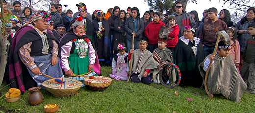 Mapuche Indigenous People From Chile And Argentina Don Quijote - Argentina mapuche