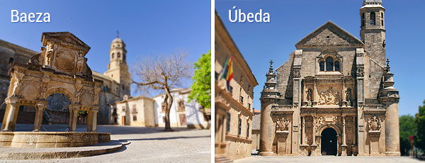 Ubeda and Baeza
