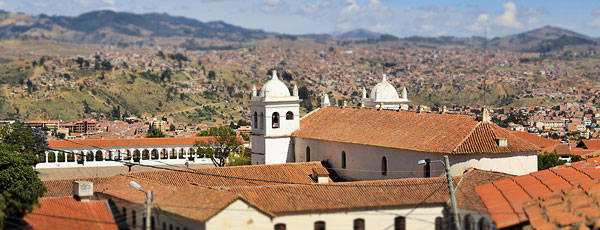 Information about the City of Sucre in Bolivia | don Quijote