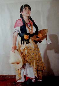 Tipical dress of Guanajuato