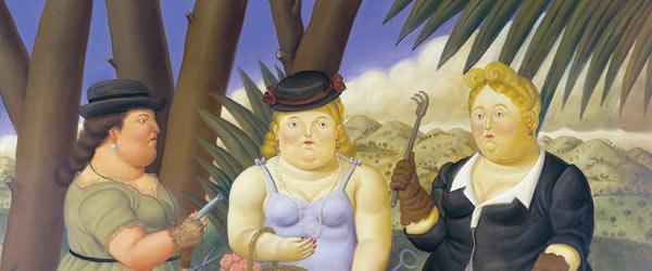 Peinture de Fernando Botero