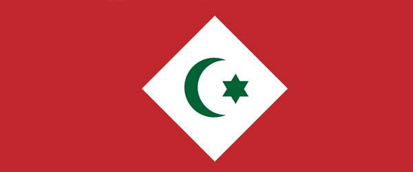 Die Flagge der Rif-Republik