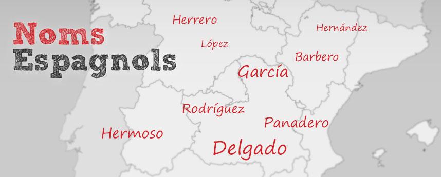 Noms Espagnols