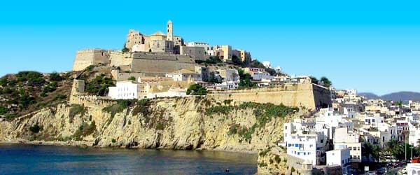 Beauté de l'île d'Ibiza