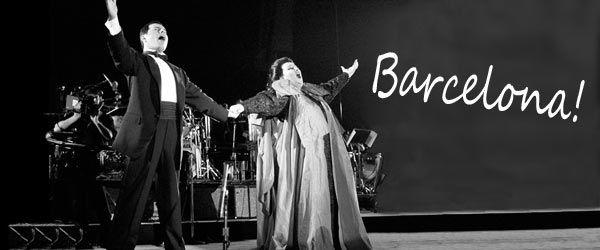 Barcelona: Montserrag Caballé et Freddie Mercury