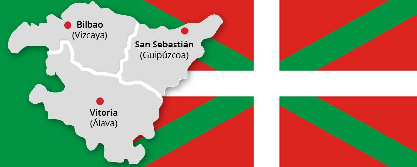 Le pays basque en Espagne