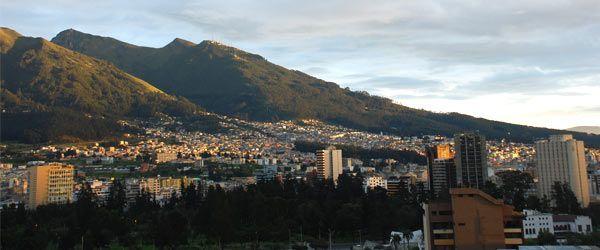 De stad Quito