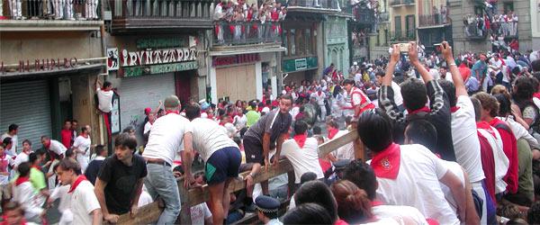 Les fêtes de San Fermín à Pampelune