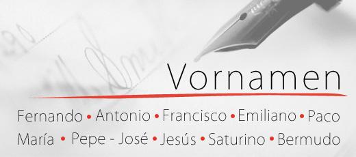 Spanische Männliche Vornamen