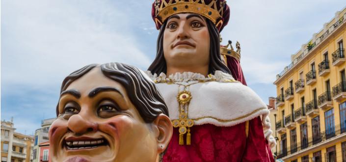 Gigantes and Cabezudos Parade