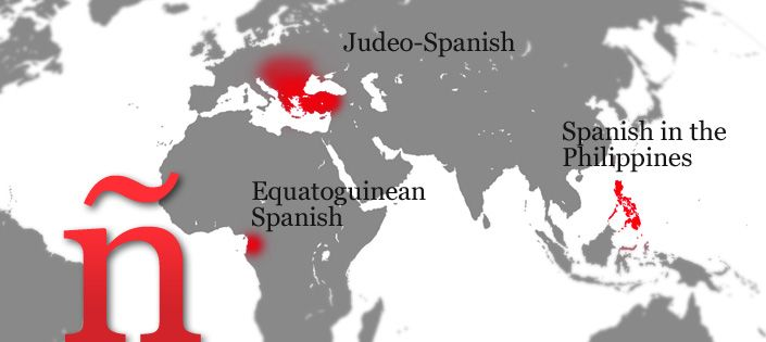Spanish outside Spain and the Americas