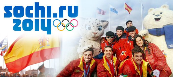 Spanish Athletes in Sochi
