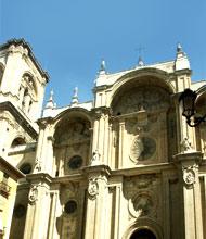 De oude Kathedraal in Granada