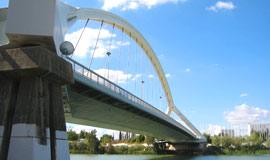 De grote brug van Sevilla, Puente de la Barqueta