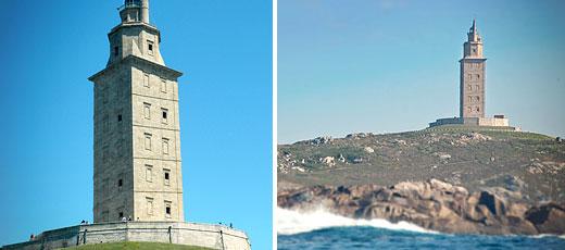 Herkulesturm in La Coruña